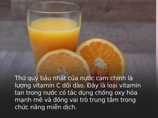 Một cốc nước cam bằng một thang thuốc bổ nhưng đừng dại uống vào 4 thời điểm này kẻo rước thêm bệnh - Ảnh 1.