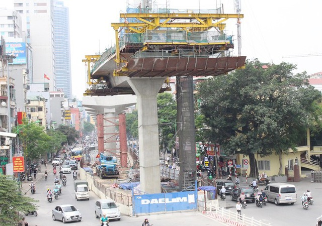 Cận cảnh đoạn metro Hà Nội vừa bị đòi bồi thường 19 triệu USD - Ảnh 2.