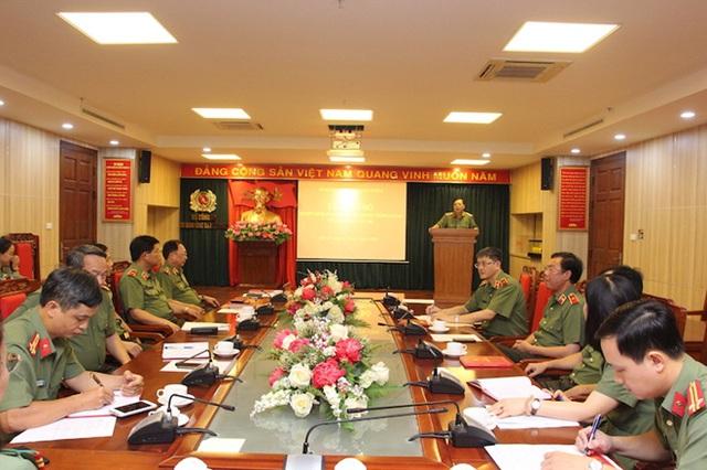 Ban Bí thư chuẩn y nhân sự Ủy ban Kiểm tra Đảng ủy Công an Trung ương - Ảnh 1.