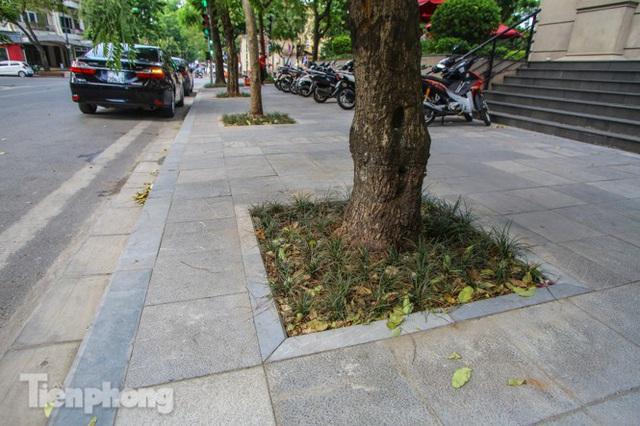 Vỉa hè các tuyến phố vùng lõi Thủ đô thay đổi ra sao sau lát đá tự nhiên? - Ảnh 13.