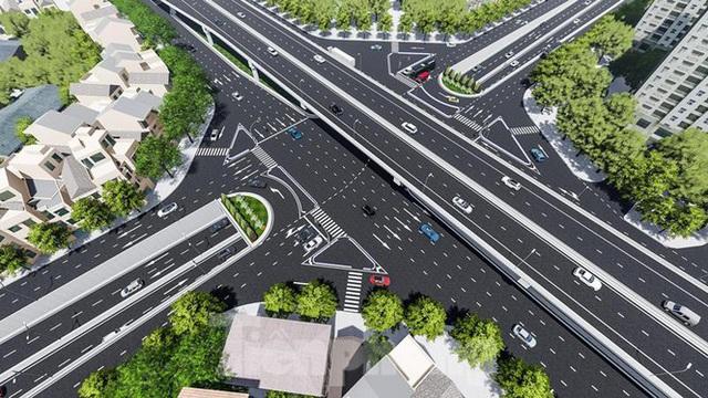 Hình ảnh thiết kế hầm chui Lê Văn Lương vượt ngầm Vành đai 3 - Ảnh 6.