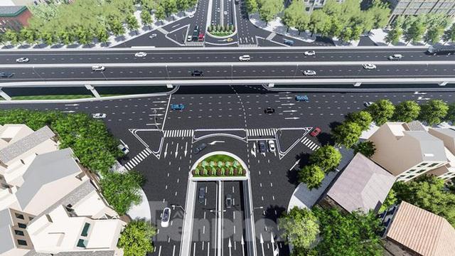Hình ảnh thiết kế hầm chui Lê Văn Lương vượt ngầm Vành đai 3 - Ảnh 7.
