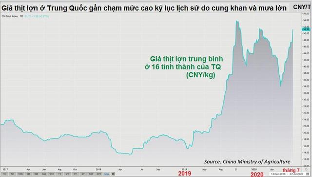 Lũ lụt ở Trung Quốc có thể khiến giá thịt lợn thế giới tăng mạnh - Ảnh 1.