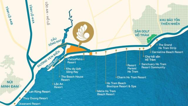 Giá đất Hồ Tràm hiện nay ra sao trước làn sóng đổ bộ của các đại gia địa ốc? - Ảnh 1.