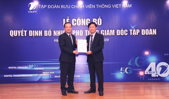 VNPT bổ nhiệm 2 Phó Tổng Giám đốc mới - Ảnh 1.