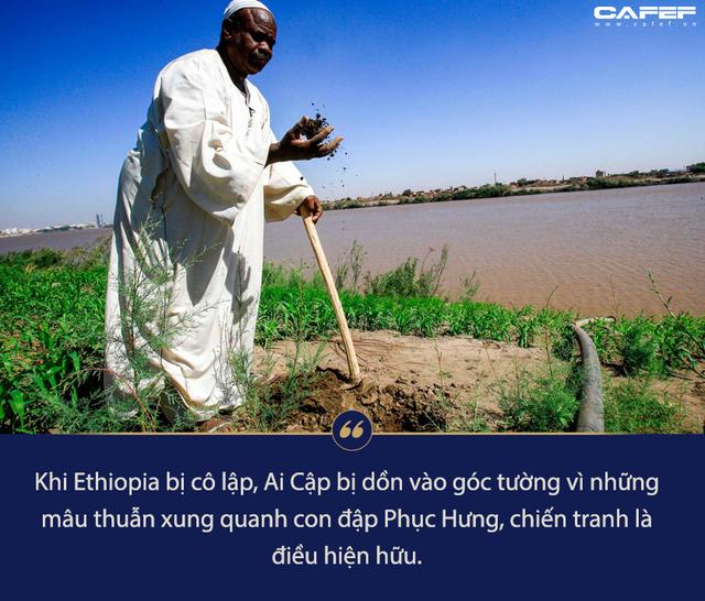 Viễn cảnh đen tối đằng sau nguy cơ chiến tranh vì siêu đập 4,6 tỷ USD trên dòng sông Nile - Ảnh 4.