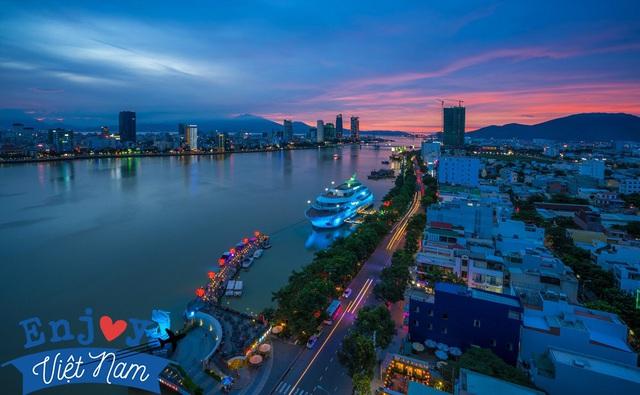 Bộ ảnh đêm khiến du khách ao ước Đà Nẵng thức khuya hơn - Ảnh 2.