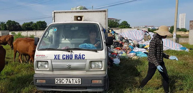 Bãi Nam Sơn thông xe, hơn 6 nghìn tấn rác ở Hà Nội được dọn xong - Ảnh 1.