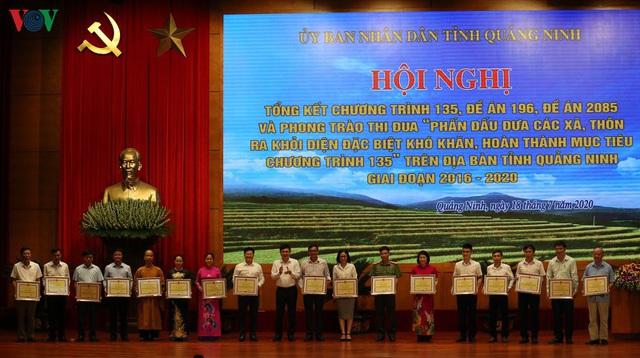 Quảng Ninh về đích Chương trình 135 trước 1 năm so với dự kiến - Ảnh 2.