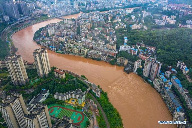 Hàng trăm con sông vượt mức nước báo động, thiệt hại không kể xiết: TQ lại tiếp tục đón hung tin - Ảnh 2.