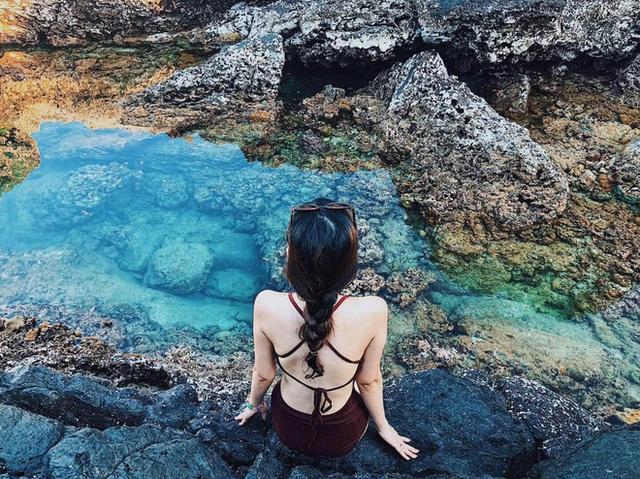 """Ngay tại Việt Nam cũng có 3 """"hồ bơi giữa biển"""" đẹp y hệt nước ngoài, hoang sơ đến nỗi rất hiếm du khách biết đến - Ảnh 16."""