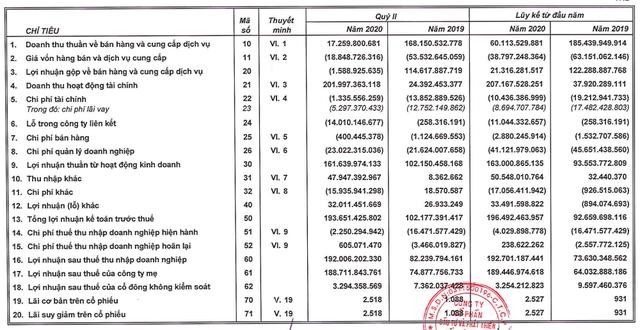 An Gia (AGG): Nhờ mua nhóm công ty con Hoàng An, quý 2 lãi 192 tỷ đồng cao gấp 2 lần cùng kỳ - Ảnh 1.