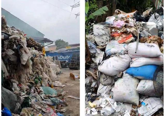 Cơ sở tái chế rác thải hoạt động chui nhiều năm ở Hải Phòng - Ảnh 2.