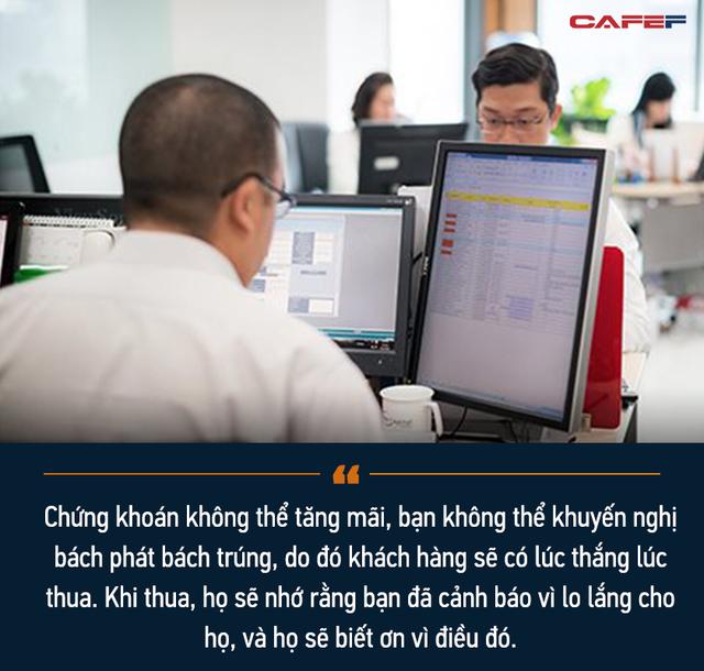 Chuyện chưa kể của một lão làng trên TTCK Việt Nam: Từng lập file excel để tính lãi 7% mỗi ngày và 3 lí do tin rằng đội lái vẫn còn nhiều đất diễn - Ảnh 8.