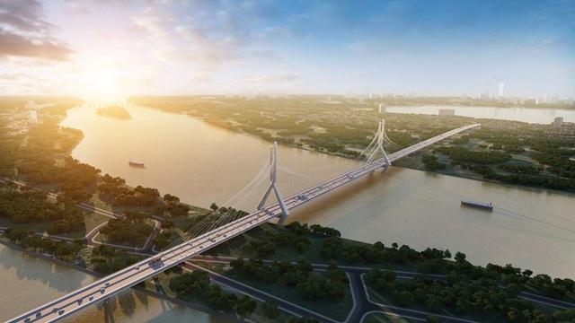 Cầu Tứ Liên: Át chủ bài của giao thông Hà Nội - Ảnh 2.