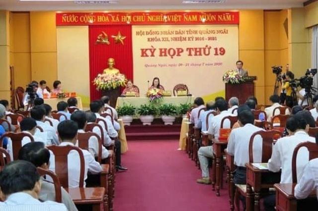 Miễn nhiệm chức Chủ tịch UBND tỉnh Quảng Ngãi đối với ông Trần Ngọc Căng - Ảnh 1.