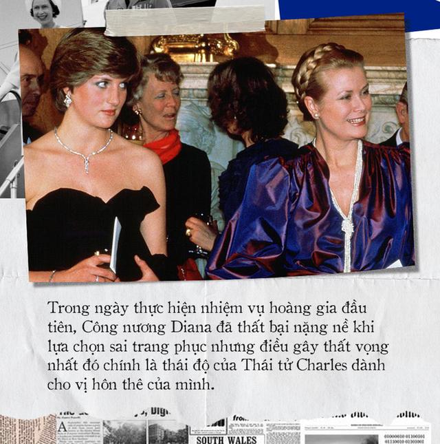 Thử thách đầu tiên của Công nương Diana khi làm dâu hoàng gia: Bị Thái tử Charles mắng mỏ thậm tệ, trở thành thảm họa không ai muốn nhắc đến - Ảnh 6.