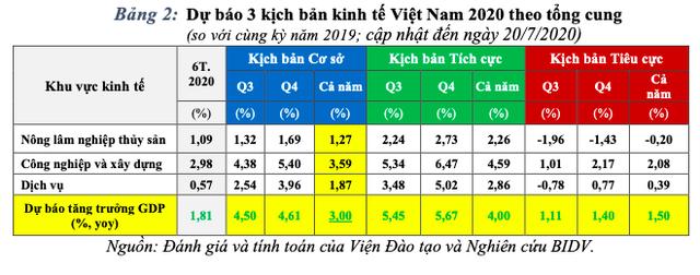 Cập nhật 3 kịch bản tăng trưởng kinh tế Việt Nam năm 2020 - Ảnh 2.