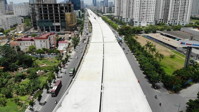 Đường vành đai 3 Hà Nội hơn 5.300 tỷ đồng sắp thông xe - Ảnh 2.