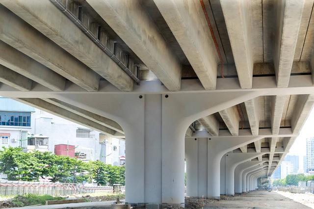 Đường vành đai 3 Hà Nội hơn 5.300 tỷ đồng sắp thông xe - Ảnh 4.