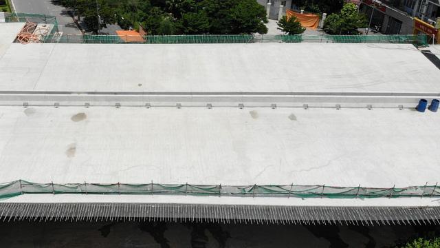 Đường vành đai 3 Hà Nội hơn 5.300 tỷ đồng sắp thông xe - Ảnh 5.