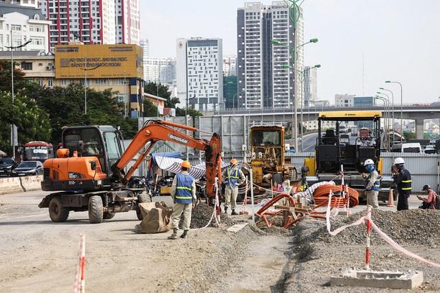 Đường vành đai 3 Hà Nội hơn 5.300 tỷ đồng sắp thông xe - Ảnh 9.