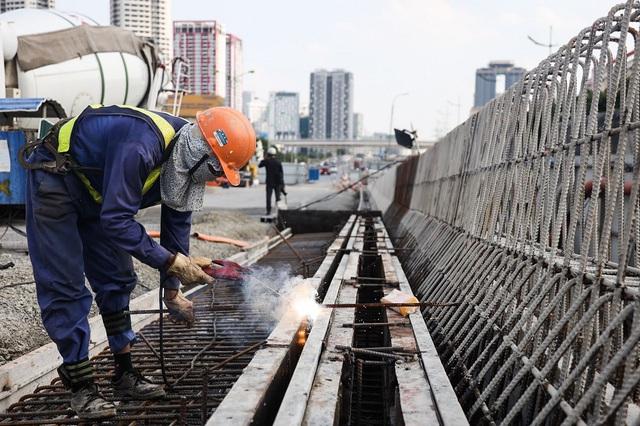 Đường vành đai 3 Hà Nội hơn 5.300 tỷ đồng sắp thông xe - Ảnh 10.