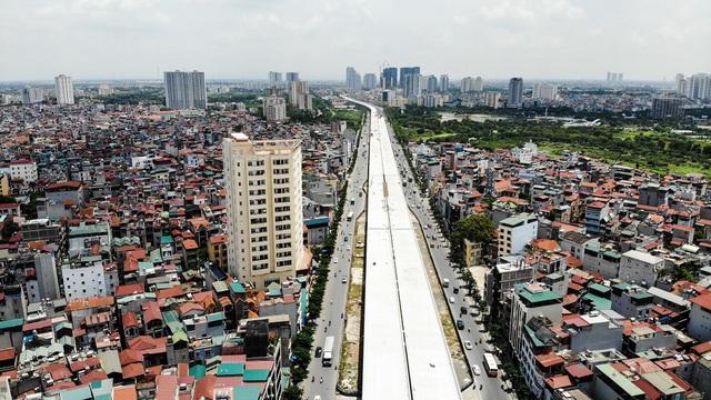 Đường vành đai 3 Hà Nội hơn 5.300 tỷ đồng sắp thông xe - Ảnh 1.