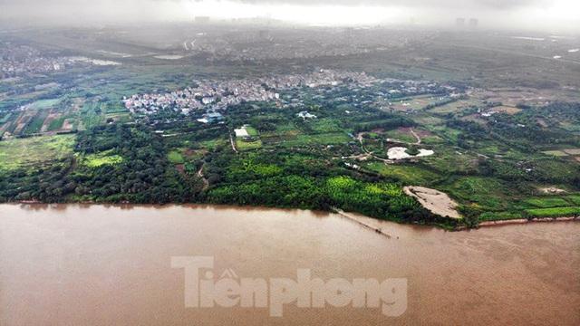 Cận cảnh nơi dự kiến xây dựng cầu Trần Hưng Đạo nối quận Long Biên - Hoàn Kiếm - Ảnh 6.