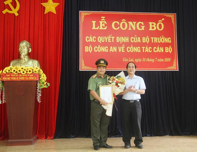 Công an tỉnh Gia Lai có 2 Phó giám đốc mới - Ảnh 1.