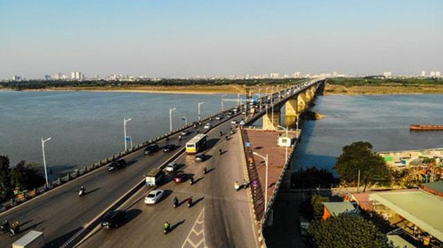 6 cây cầu huyết mạch bắc qua sông Hồng  - Ảnh 4.