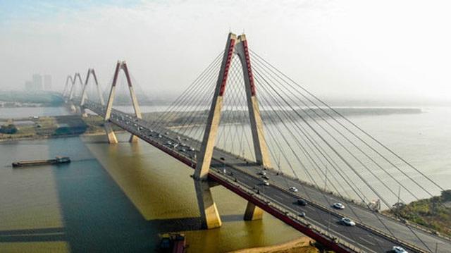 6 cây cầu huyết mạch bắc qua sông Hồng  - Ảnh 6.