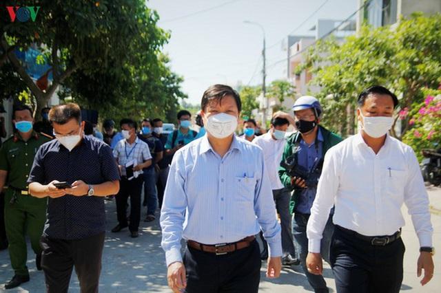 Đà Nẵng thành lập 5 tổ giám sát khu dân cư nơi bệnh nhân 416 cư trú - Ảnh 1.