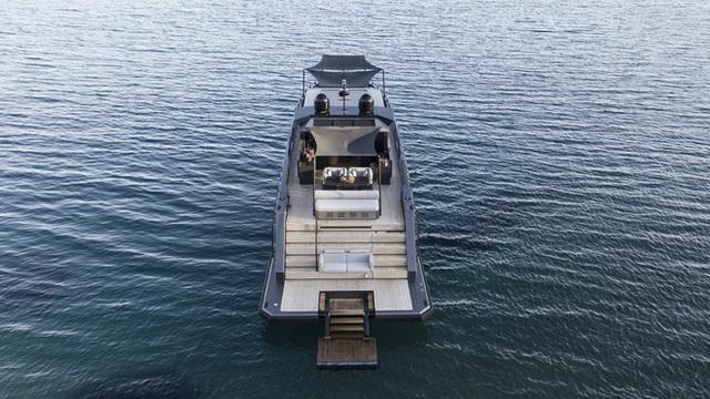 Du thuyền siêu sang làm bằng carbon tổng hợp và kính chống đạn - Ảnh 5.