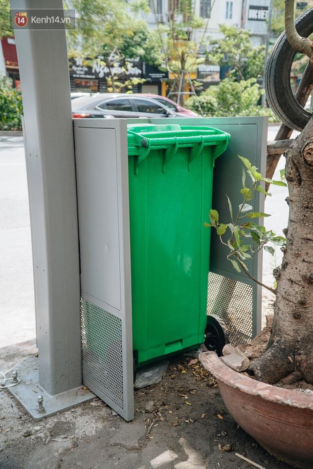 Thùng rác công nghệ với tấm pin mặt trời trên đường phố Hà Nội: Truyền cảm hứng bảo vệ môi trường đến người dân - Ảnh 7.
