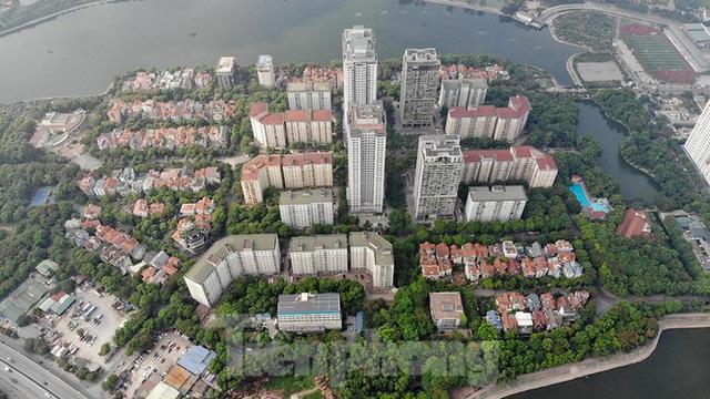 Cận cảnh cầu vượt hồ 314 tỷ đồng sắp hoàn thành ở Hà Nội - Ảnh 10.