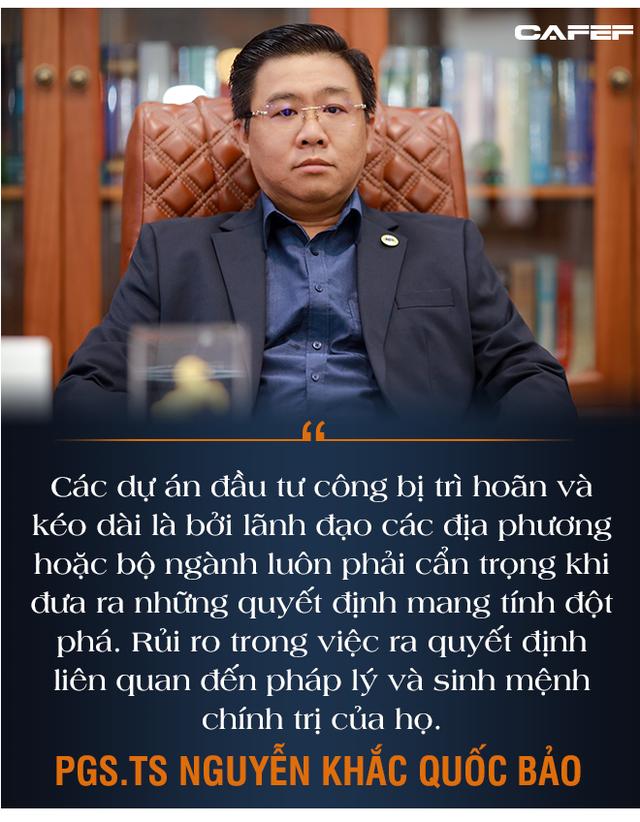 PGS.TS Nguyễn Khắc Quốc Bảo: Điểm nhạy cảm của bom tấn kích thích tăng trưởng - Ảnh 4.