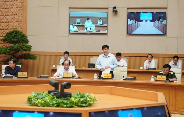Quyền Bộ trưởng Bộ Y tế Nguyễn Thanh Long: Chủng virus SARS-CoV-2 ở bệnh nhân Đà Nẵng là chủng mới, lây lan nhanh hơn - Ảnh 1.