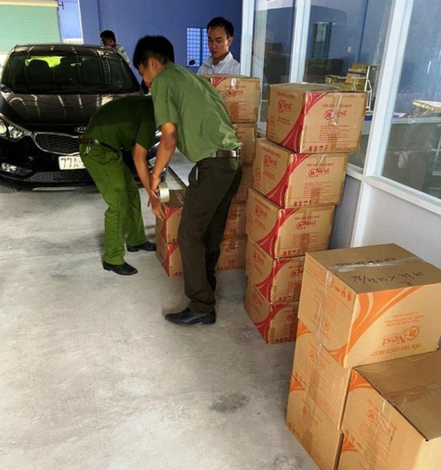 Sản xuất nước yến bằng… mủ trôm, doanh nghiệp bị phạt 236 triệu đồng  - Ảnh 2.