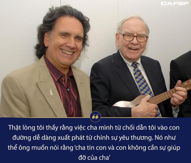 200 triệu USD trôi qua tay nhẹ tựa lông hồng, đây là cách con út của Warren Buffett sống một cuộc đời không hối tiếc - Ảnh 4.