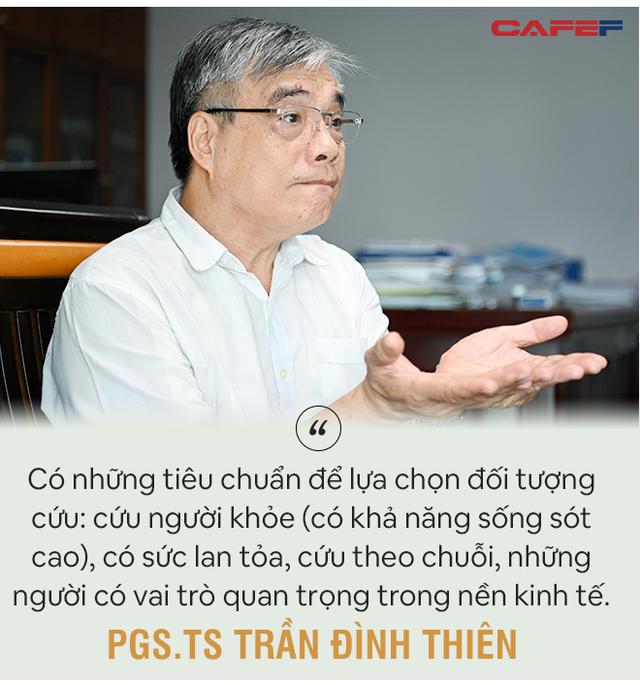 PGS. TS Trần Đình Thiên: Phải cứu doanh nghiệp giúp nền kinh tế đứng dậy được chứ không phải để tất cả cùng thoi thóp! - Ảnh 5.