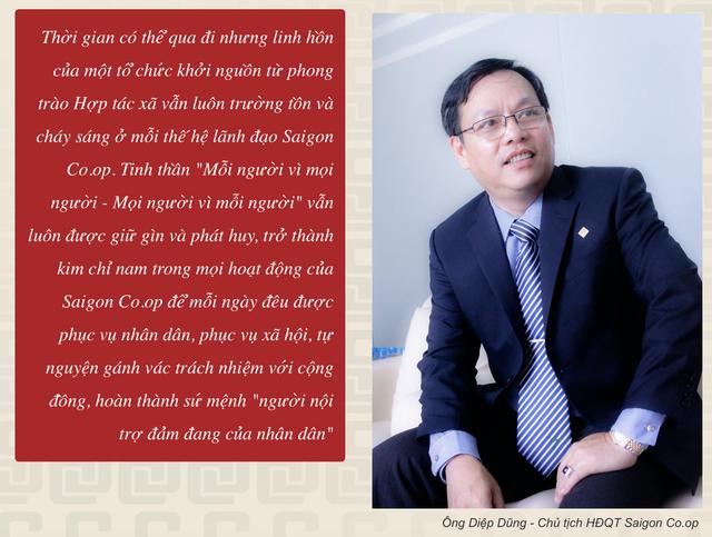 Kết luận thanh tra có dấu hiệu huy động vốn trái pháp luật và thâu tóm tại Saigon Co.op, Chủ tịch HĐQT Diệp Dũng bị đình chỉ chức vụ Bí thư Đảng uỷ - Ảnh 1.