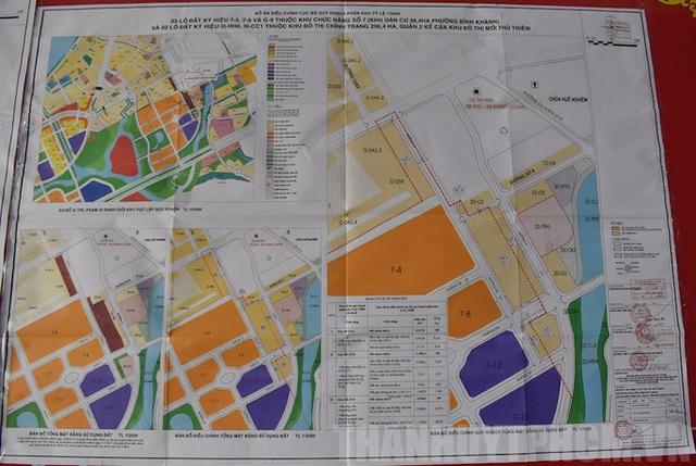 Điều chỉnh cục bộ quy hoạch phân khu trong Khu đô thị mới Thủ Thiêm - Ảnh 1.
