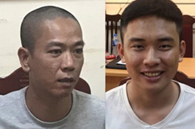 Vụ cướp ngân hàng ở Hà Nội: Trưởng phòng giao dịch bị dí súng vào đầu đe dọa - Ảnh 1.