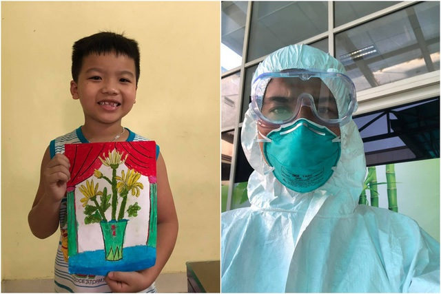 Loạt hình ảnh xúc động về y bác sĩ trước trận chiến mới chống lại Covid-19: Người tạm biệt con ốm vào Đà Nẵng cứu viện, người không ngại cắt phăng mái tóc dài - Ảnh 3.