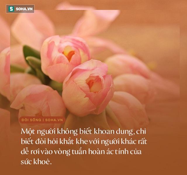 1 biểu hiện đặc trưng của người càng sống càng hưởng phúc dày, cuộc đời an yên, viên mãn - Ảnh 4.