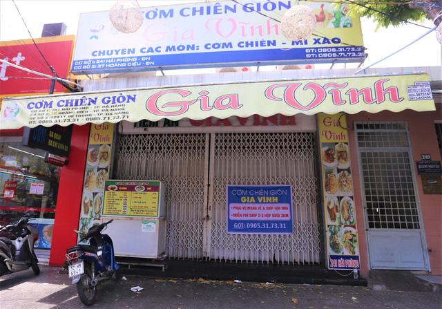 Chùm ảnh: Tất cả hàng quán ở Đà Nẵng chính thức đóng cửa, ngưng cả bán mang về từ 13 giờ chiều nay - Ảnh 17.