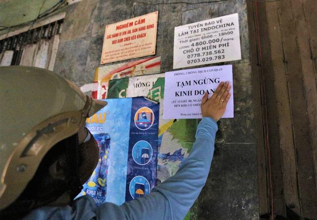 Chùm ảnh: Tất cả hàng quán ở Đà Nẵng chính thức đóng cửa, ngưng cả bán mang về từ 13 giờ chiều nay - Ảnh 6.
