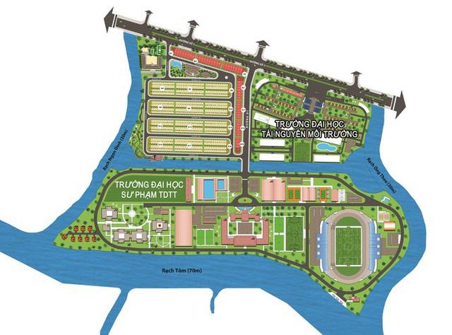 Công ty Vạn Phát Hưng xây 'chui', bán 'lụi' hàng trăm nền đất ở dự án Nhơn Đức - Ảnh 3.