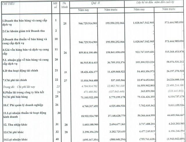 Quốc Cường Gia Lai (QCG): Doanh thu tăng bằng lần, quý 2/2020 vẫn lỗ ròng 4 tỷ đồng - Ảnh 1.